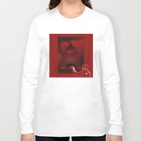 moscow Long Sleeve T-shirts featuring Moscow by Nerve