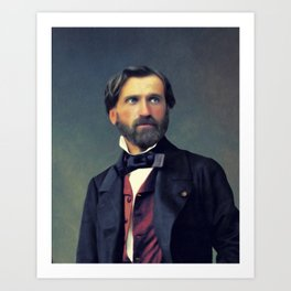 Guiseppe Verdi, Music Legend Art Print