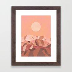 Hanna KL x Pearl Charles Framed Art Print