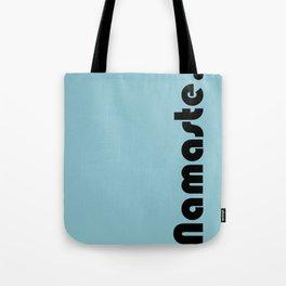 Namaste in blue. Tote Bag