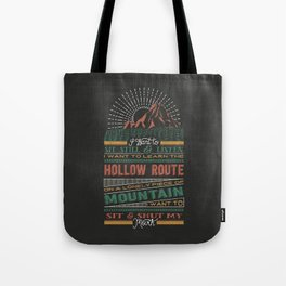 The Hollow Route Tote Bag