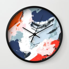 Abstract Color Pop Wall Clock