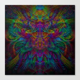 Unified with nature Canvas Print