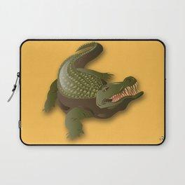 Crocodile - 'A Fantastic Journey' Laptop Sleeve
