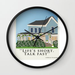 Life's short, talk fast! Wall Clock