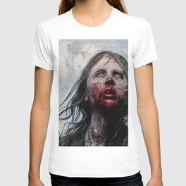 The Lone Wandering Walker - The Walking Dead T-shirt