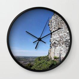 Drachenfels Castle Ruin Wall Clock