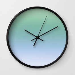Cool Pastels Gradient Wall Clock