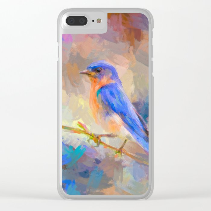 Bring On The Bluebirds Clear iPhone Case