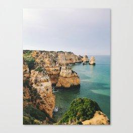 Ponta da Piedade, Lagos, Portugal Canvas Print