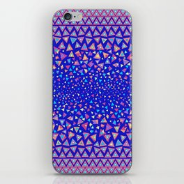 Triangle Dance iPhone Skin