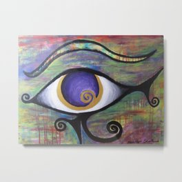 Eye Of Horus Metal Print