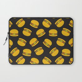 Burger Pattern  Everett co Laptop Sleeve