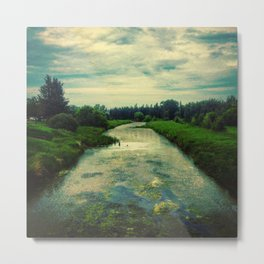 Sturgeon River Metal Print
