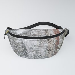 Winter in the Mountains Fanny Pack