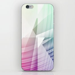Square Abstract iPhone Skin