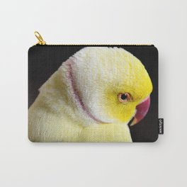 Shy Parakeet Carry-All Pouch