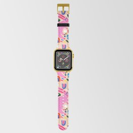 Pink Bunny Apple Watch Band