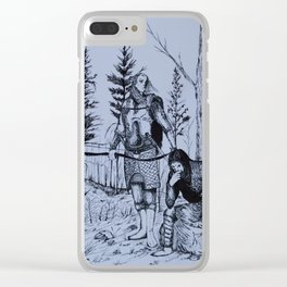 Taking counsel Clear iPhone Case