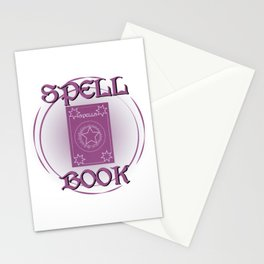 Spellbook Stationery Cards