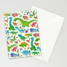 Jurassic baby Stationery Cards