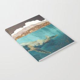 Light Beneath Notebook