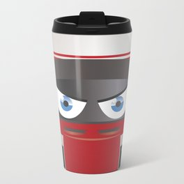 Jenson BUTTON_2014_Helmet #22 Metal Travel Mug