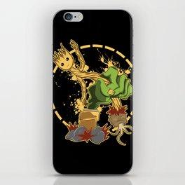 Zombi vs Plantas  iPhone Skin