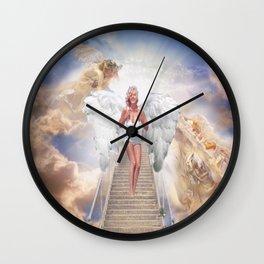 MM - angel Wall Clock