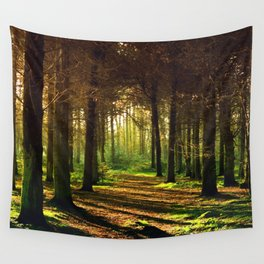 Woodland Tranquility Wall Tapestry