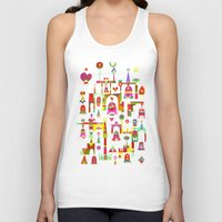 cartoons Tank Tops featuring Harmony Chime by C86 | Matt Lyon