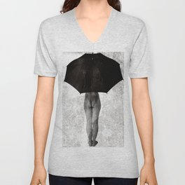 It Can not Rain Unisex V-Neck