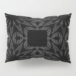 Slate Gray Colorburst Pillow Sham