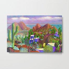 Phoenix after California falls in the Ocean Metal Print