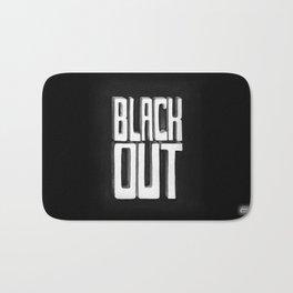 Black Out Bath Mat