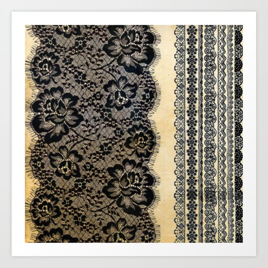 Old Lace  Art Print