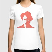 tom waits T-shirts featuring Tom Waits in Red by JennFolds5 * Jennifer Delamar-Goss