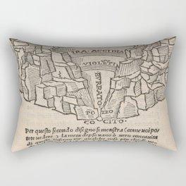 Overview of Hell Rectangular Pillow