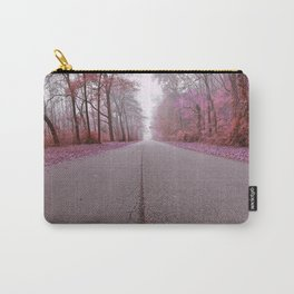 Misty Wonderland Road Carry-All Pouch