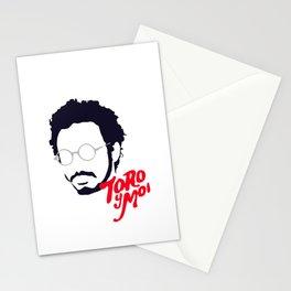 Toro Y Moi - Minimalistic Print Stationery Cards