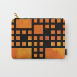 Visopolis V1 - orange flames Carry-All Pouch