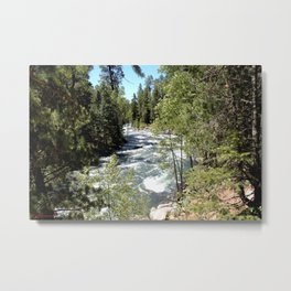 Camping, Hiking, and Kayaking on Vallecito Creek Metal Print