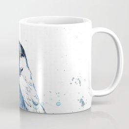 Quick sketch of a Magpie Coffee Mug