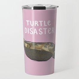 Turtle Disaster Travel Mug