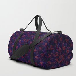 Spiral Bouquet Pattern Duffle Bag