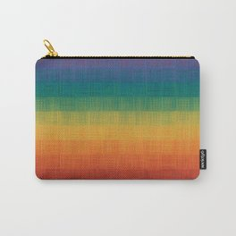 Colorful Grunge Texture Pattern Seamless Abstract Rainbow Multi Colored Illustration Carry-All Pouch