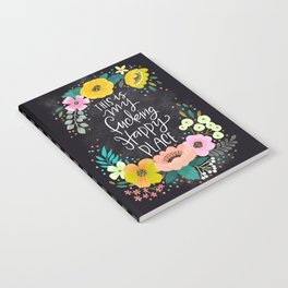 Swearapy Chic: This is my Fucking Happy Place Notebook