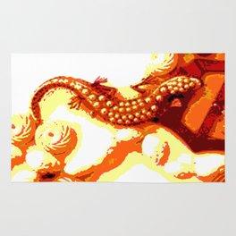 Vintage Salamander Rug