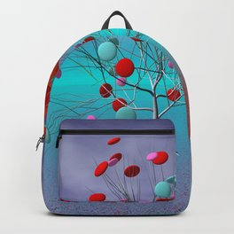 fancy tree and full moon -2- Backpack
