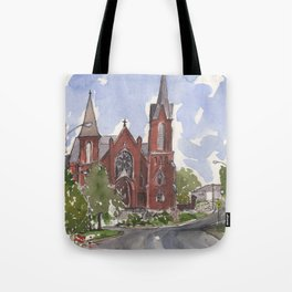 Immaculate Conception Church - Ft. Smith, AR Tote Bag